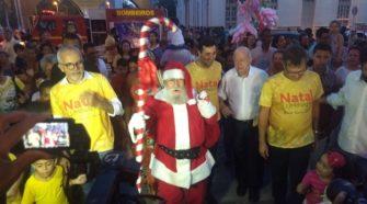 Papai Noel no Centro