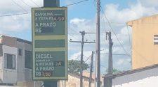 Preço da Gasolina em Arauá