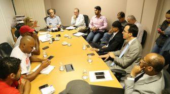 Reunião do Governo com Termelétrica com representantes da Celse e do SOS Emprego