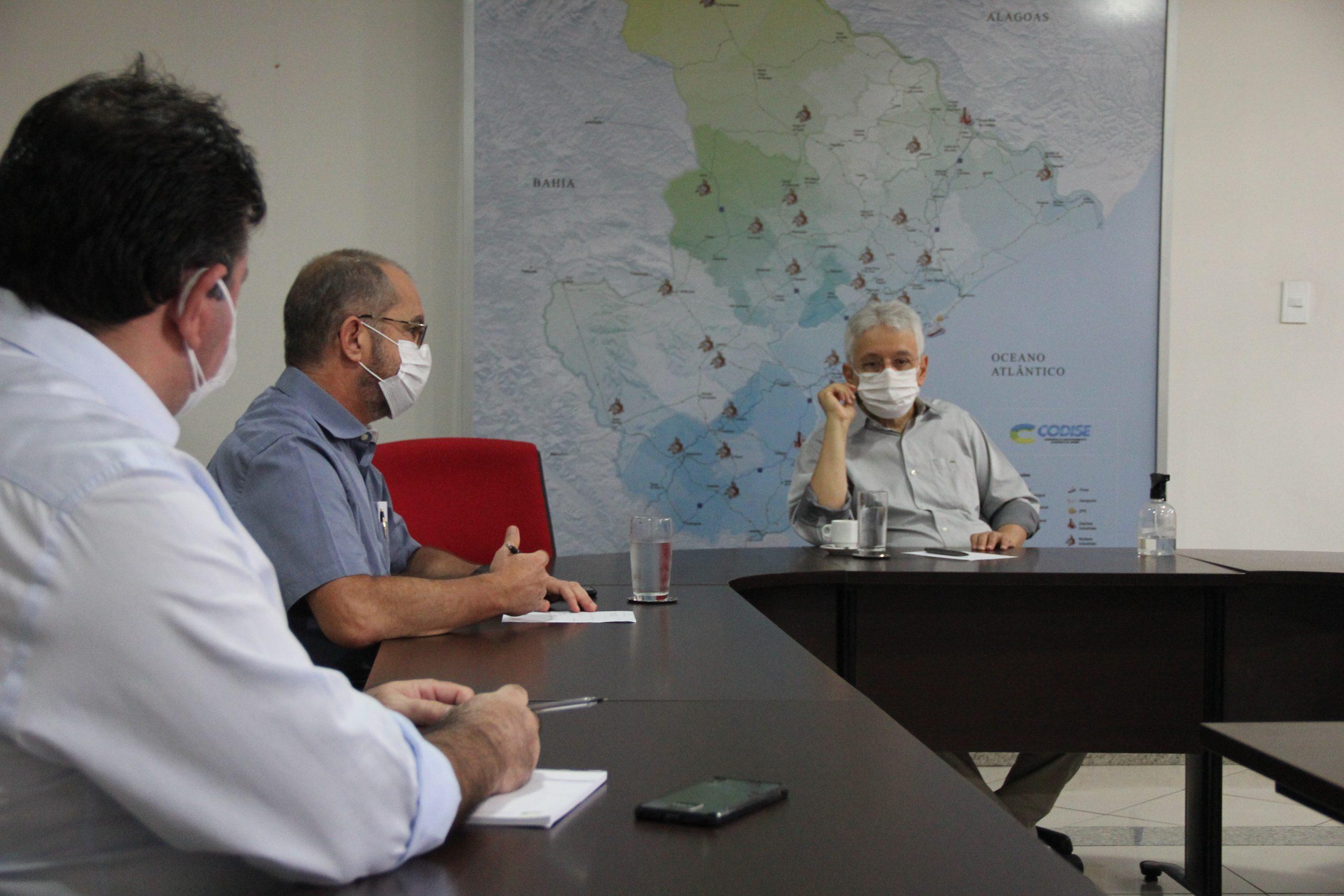 VLI apresenta nova diretoria do Porto de Sergipe ao Governo do Estado