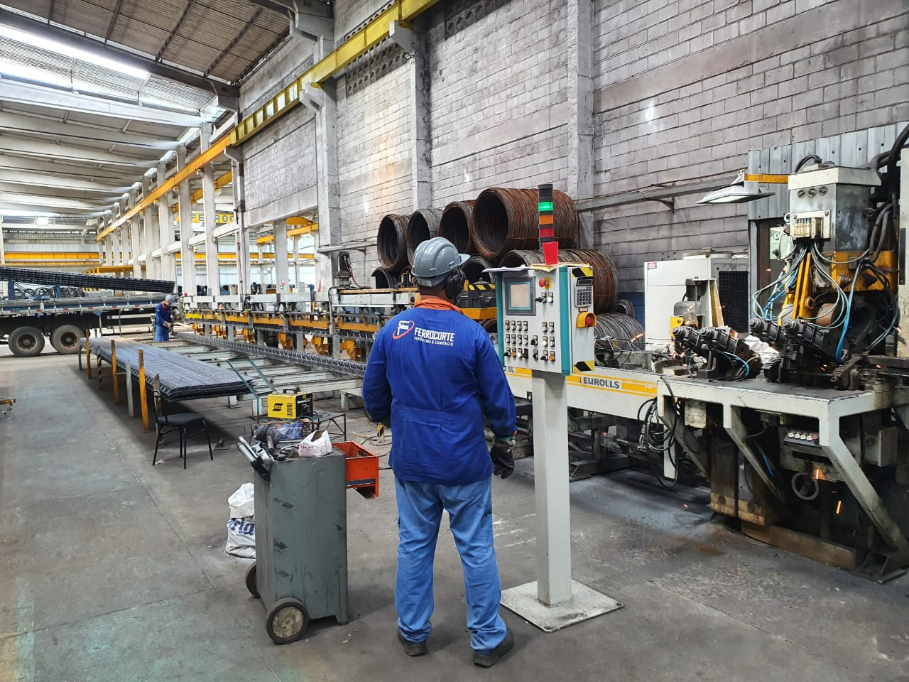 Brasil está exportando menos aço