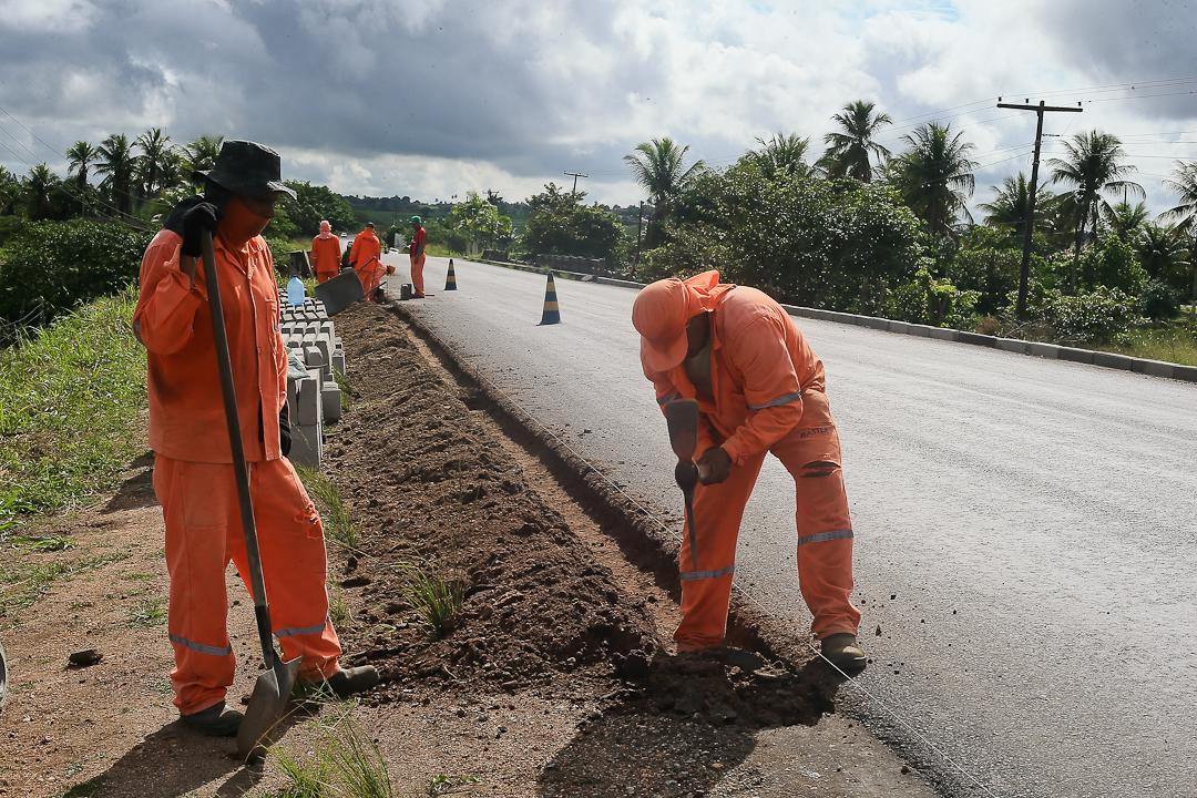 Avança Sergipe: Obras da Rodovia SE-170 entre Lagarto e Riachão do Dantas estão sendo finalizadas