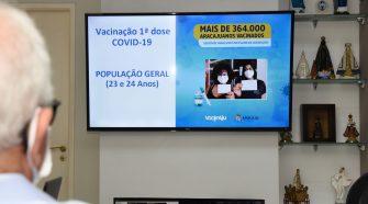 Vacinação: Aracaju retomará repescagem