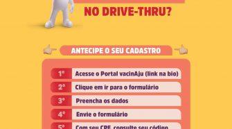 Vacinação: liberado cadastro para adolescentes de 15 a 17 anos em Aracaju