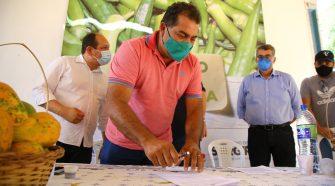 Termo de Cooperação trará melhorias para o perímetro irrigado de Canindé