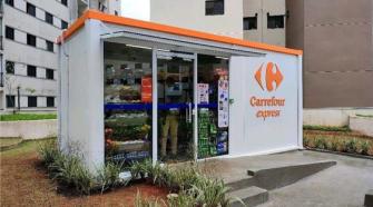 Carrefour lança a primeira loja container em condomínio
